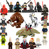 21Pcs/Set Star Wars Tauntaun Rancor Figures Anakin Baze Mini Bricks Obi-Wan Trooper Shaak Ti LEGOINGLYS Building Blocks Toys