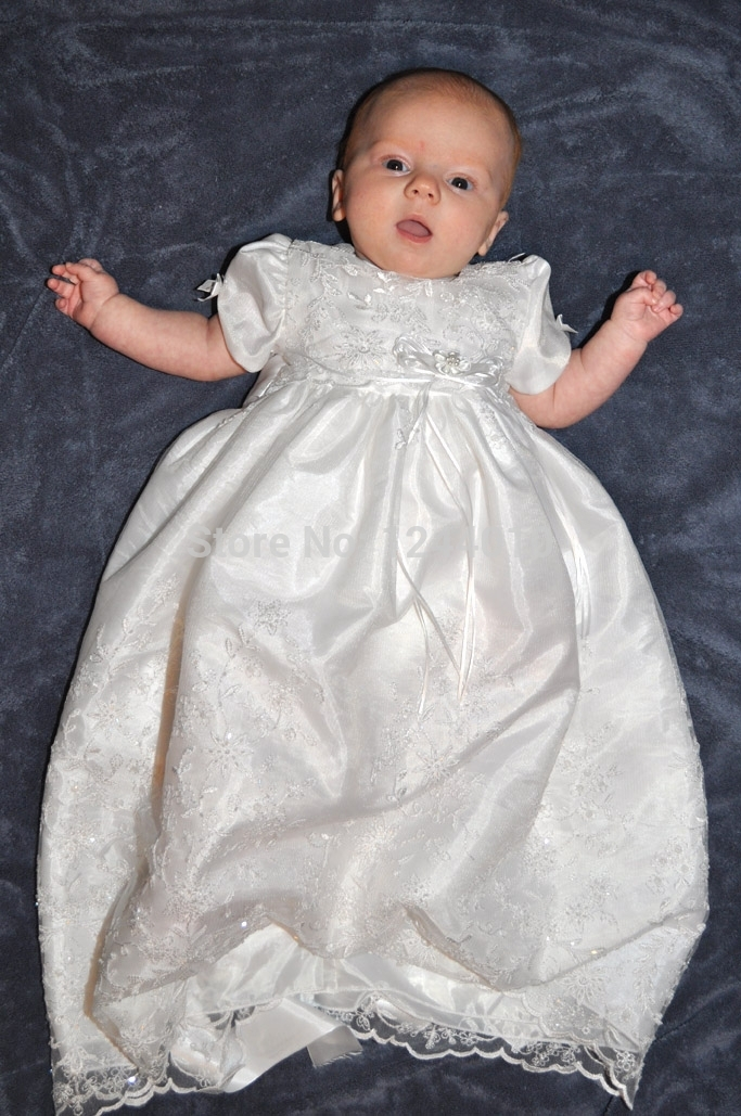 Hj 1 Lace 2015 Vintage Baby Clothes Lace Christening Gown
