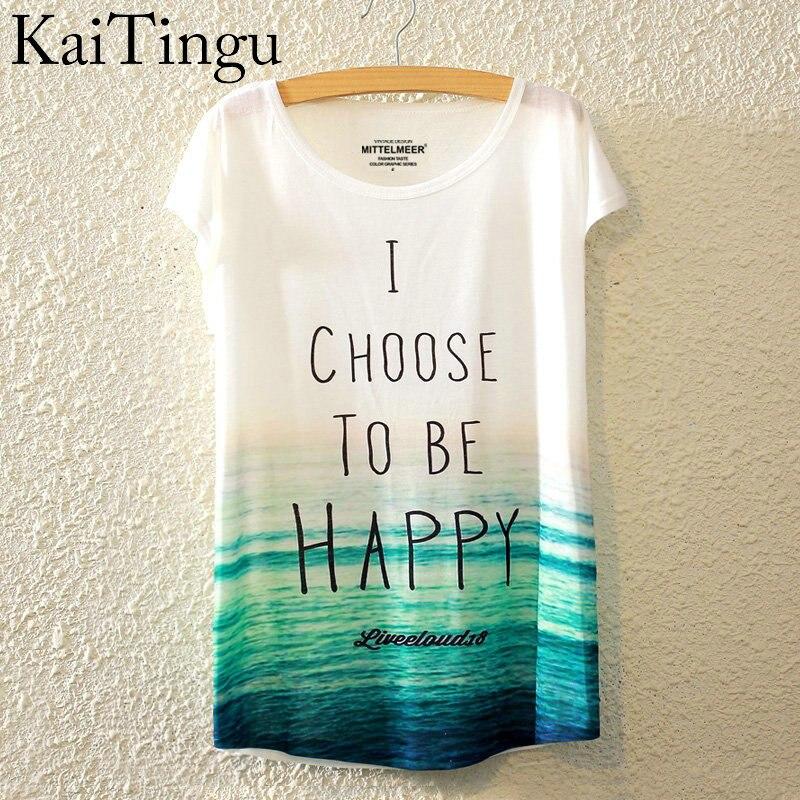 HTB1abJ0LpXXXXXRXpXXq6xXFXXXb - New Fashion Summer Animal Cat Print Shirt O-Neck Short Sleeve T Shirt