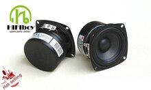 2pcs 3 inch Full Range Speaker  Full frequency speaker paper cone Aluminum bullet Casting Aluminum Basket 4ohm 8ohm 20W