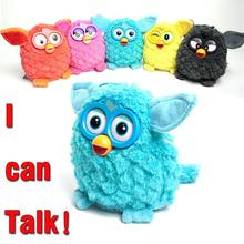 Electronic Plush Toys Interactive Toy Phoebe Firbi Pets Owl Elves Recording Talking Hamster Smart Toy Doll Furbiness boom
