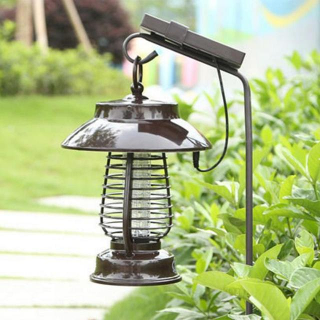 Pest Bug Light Solar Mosquito Killer LED Light For Outdoors Yard Mosquito Lamp