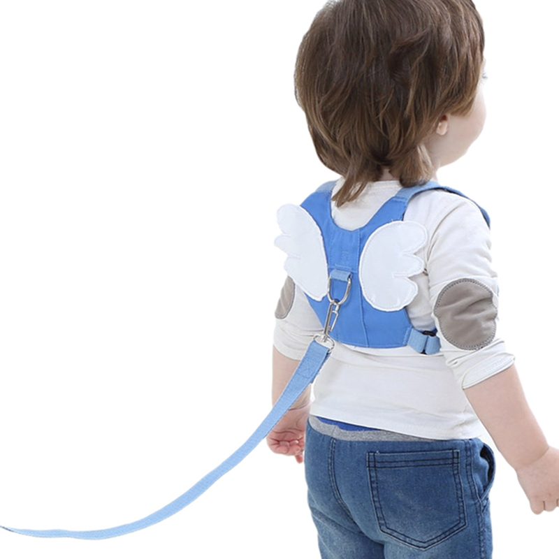 Toddler Baby Walking Harnesses Anti-Lost Rope Traction Rope Backpack Leashes For Little Children Kids Assistant Learning Safety