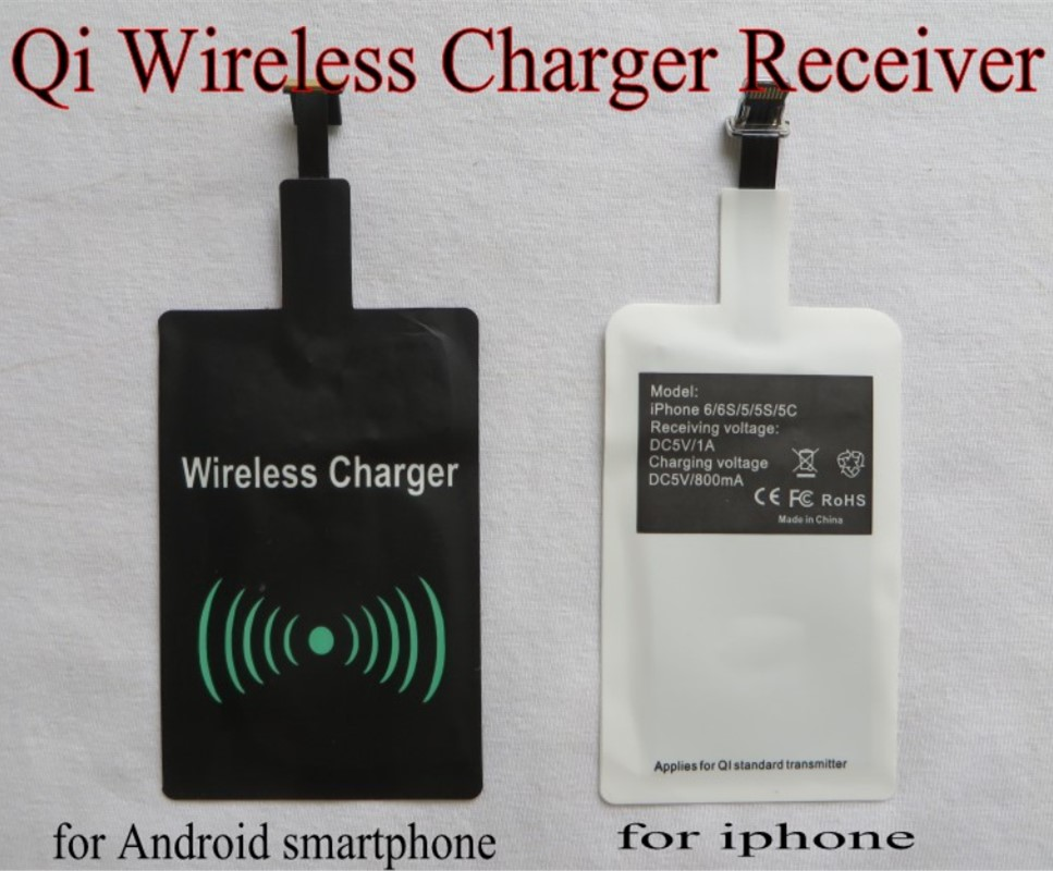 Chargers Accessories & Parts Collection Here Universal Qi Wireless Charger Receiver Charging Pad Coil Adapter For Iphone6 6s 5 5s Samsung Htc Xiaomi Hua Wei Etc 100pcs/lot