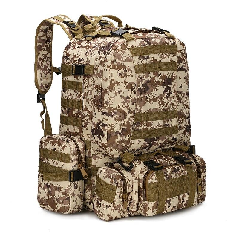 YOUGLE 50L Молл тактический Открытый нападение Военная Униформа рюкзаки рюкзак Кемпинг Сумка Новый