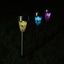 3pcs/Lot High Quality Solar Power LED Garden Light Solar Energy Outdoor Lamp For Lawn Outdoor LED Solar Garden Waterproof Light