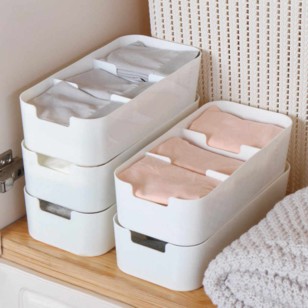 Home Makeup Organizer Cosmetic Drawer Makeup Storage Box Container Nail Casket Holder Desktop Sundry Storage Case Bead Tools