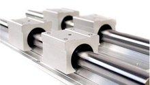 2 шт. SBR16-1000 мм Линейный Подшипник Rails + 4 шт. SBR16UU