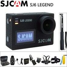 SJCAM SJ6 Легенда экшн камера Спорт DV Wi-Fi Notavek 96660 4 К 24fps Ultra HD Водонепроницаемый 2.0 Дюймов Сенсорный Экран Оригинальный SJ Cam Действий Камеры