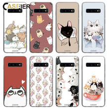 CASEIER Cute Cat Case For Samsung Galaxy S9 S8 S10 Plus S10E