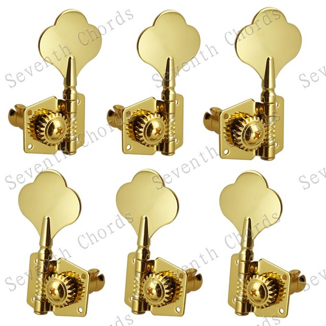Tuning pegs 6 string bass