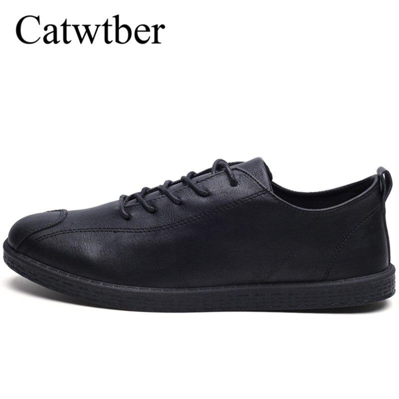 купить Catwtber Men Shoes Casual Walking Luxury Brand Italian Mens Loafers Leather Soft Moccasins Comfy Breathable Slip on Driving Shoe по цене 1019.96 рублей