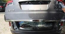 1pc for FAW BESTURN X80 2013-2016 Tailgate strip rear door trim Decorative bright