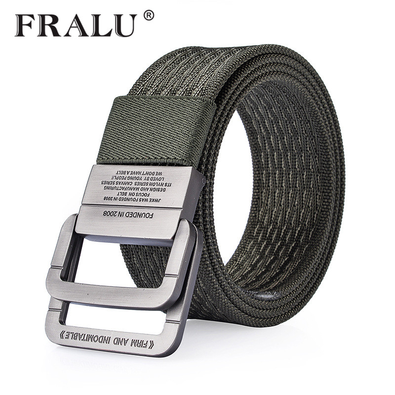 FRALU 100% Nylon Belt menn Army Tactical Belts mann Militær Waist Canvas mannlig High Quality Equipment Strap Canvas Belter