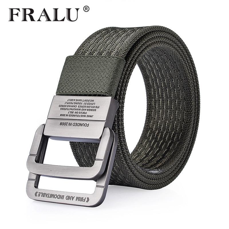 FRALU 100% Nylon   Belt   men Army Tactical   Belts   man Military Waist Canvas male High Quality Equipment Strap Canvas   Belts