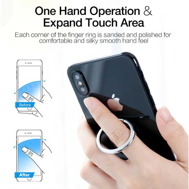 CD 스핀 360 학위 손가락 반지 휴대 전화 홀더 마그네틱 홀더 스마트 폰 스탠드 아이폰 X 8 7 6 플러스 삼성 S8