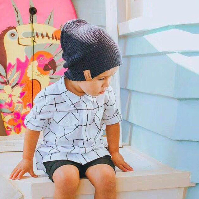 New Arrival Soft Warm Children Casual Warm Cap 1