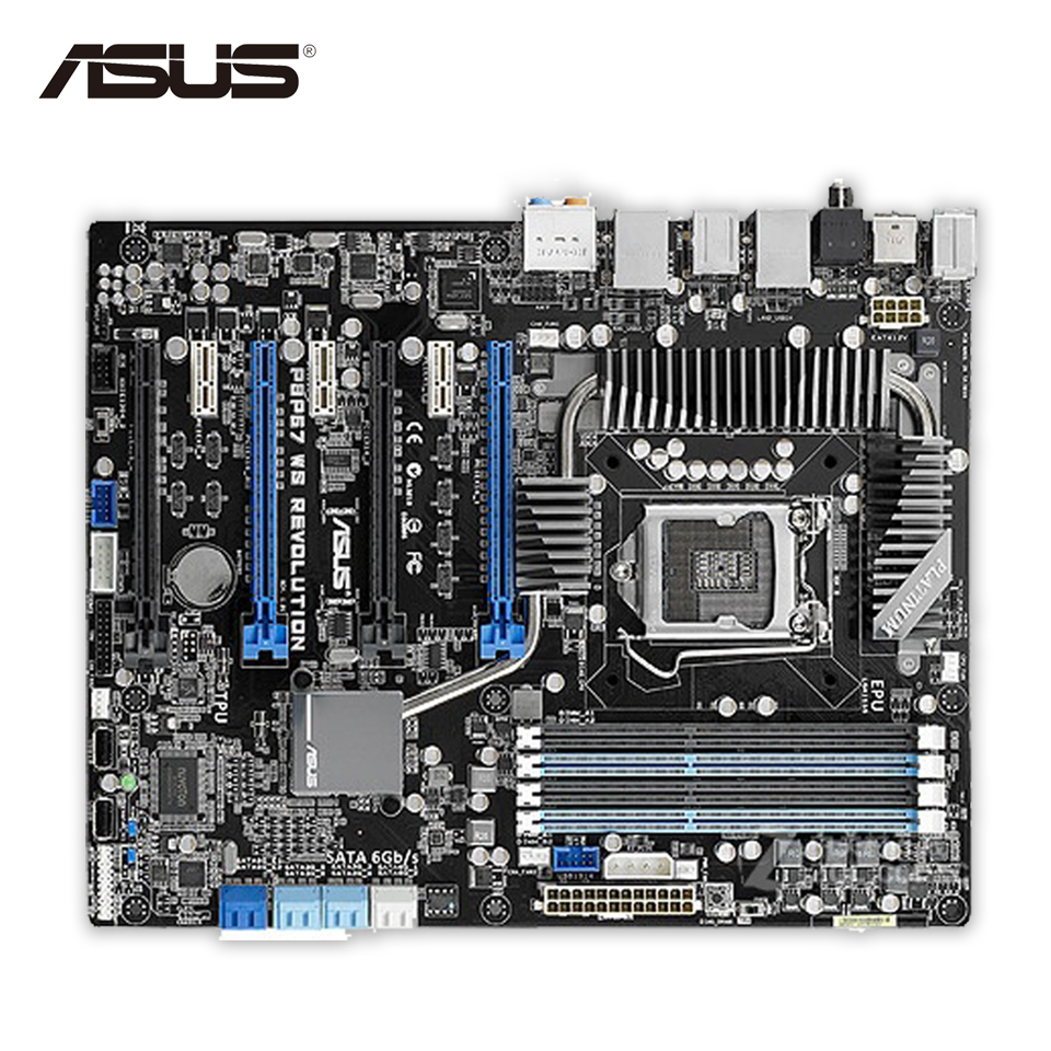 Asus P8P67 WS Revolution Motherboard Driver Windows XP