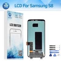 Super AMOLED ЖК дисплей Дисплей для samsung Galaxy S8 G950 SM G950F ЖК дисплей Экран сенсорный экран 5,8 + инструмент