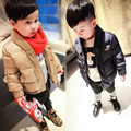 2016 New Leisure Children's Top Male Baby Winter Jacket In Children Children Winter Wool Cotton Baby Clothes