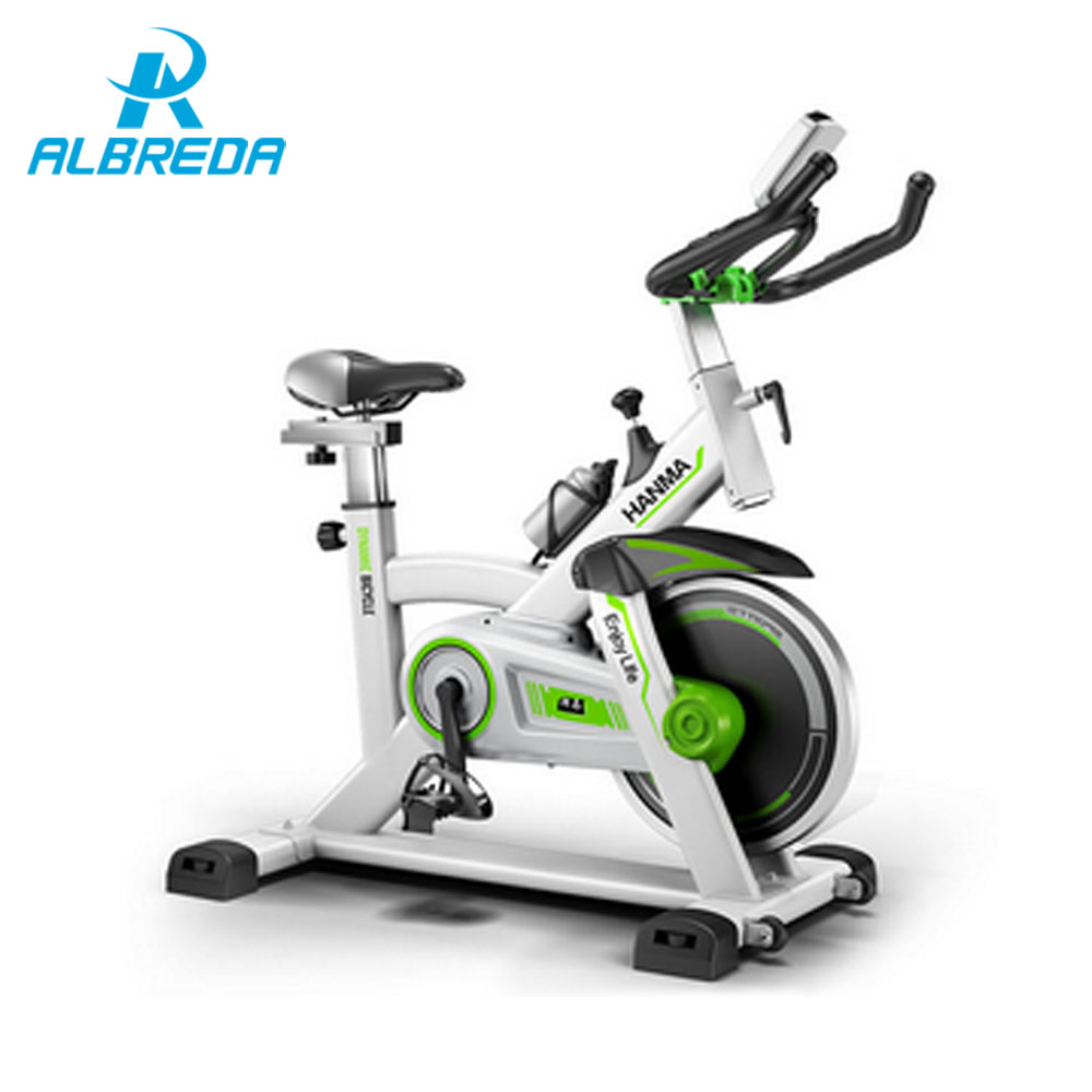 albreda new arrival dynamic bicycle super quiet body building indoor fitness equipment sport. Black Bedroom Furniture Sets. Home Design Ideas
