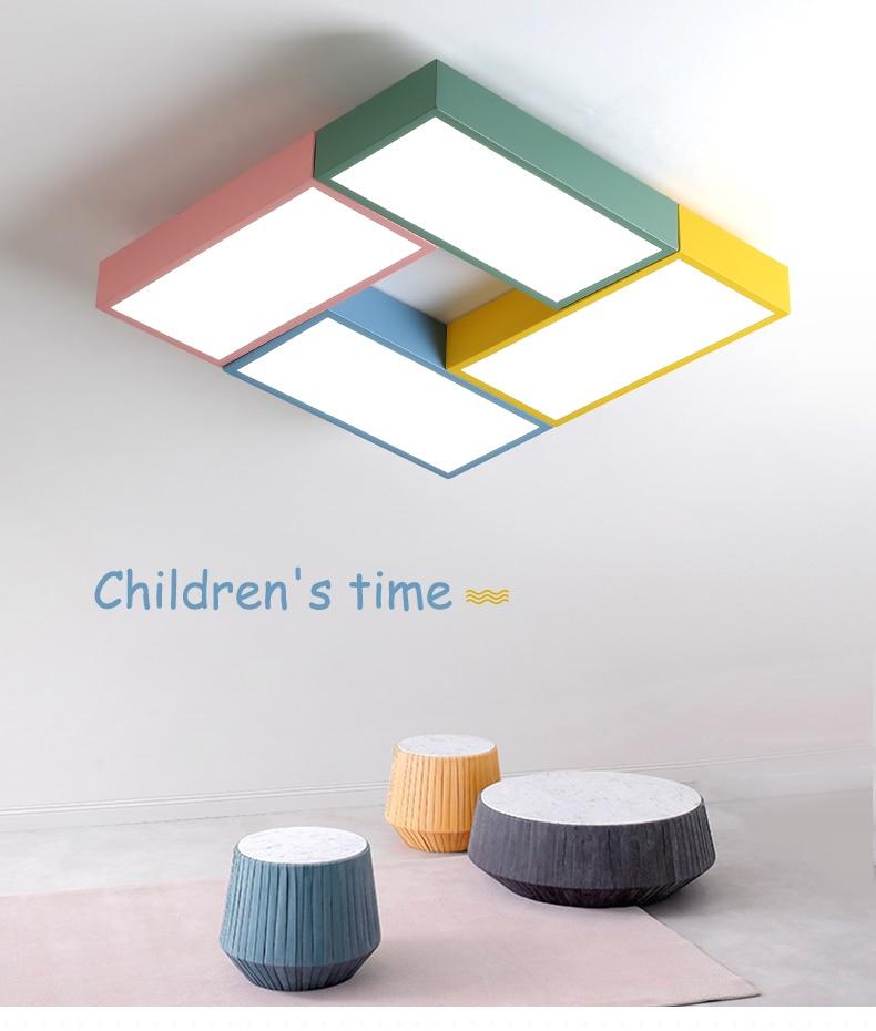 DX Kids Toy Brick Led Ceiling Lights (2)