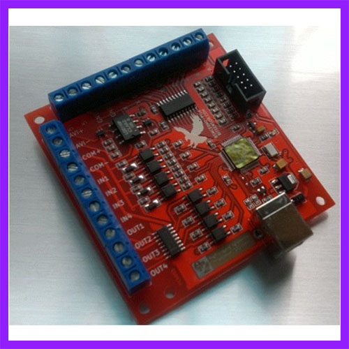 MACH3 4-Axis 100KHz USB CNC Controller Card Smooth Stepper Motion Control DE SHI