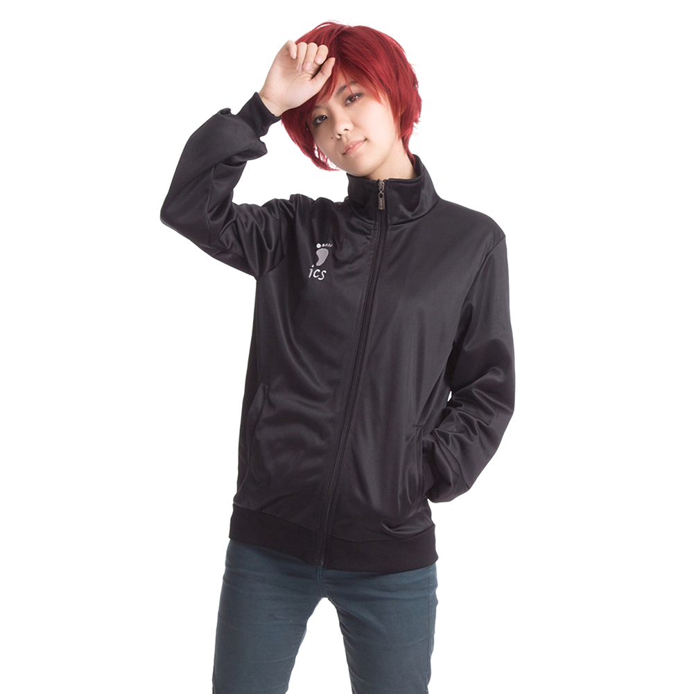 30a29b5d Унисекс Хината Syouyou Косплэй костюм с капюшоном Повседневное пальто Куртки