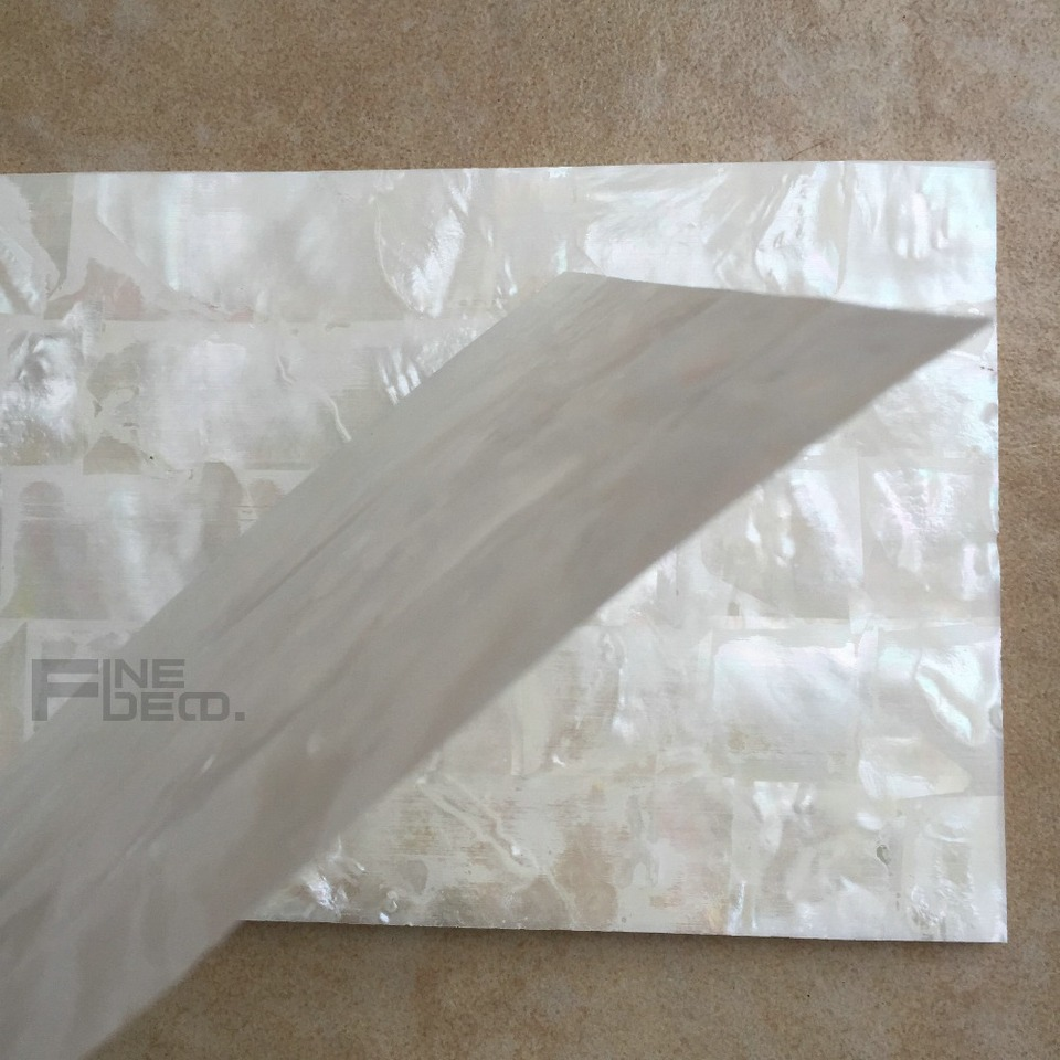 Legno Laminato Per Mobili us $209.0 |aaa grade bianco madreperla laminato foglio modello di mattoni  scocca in impiallacciato per mobili in legno dell'intarsio 140x240mm (20
