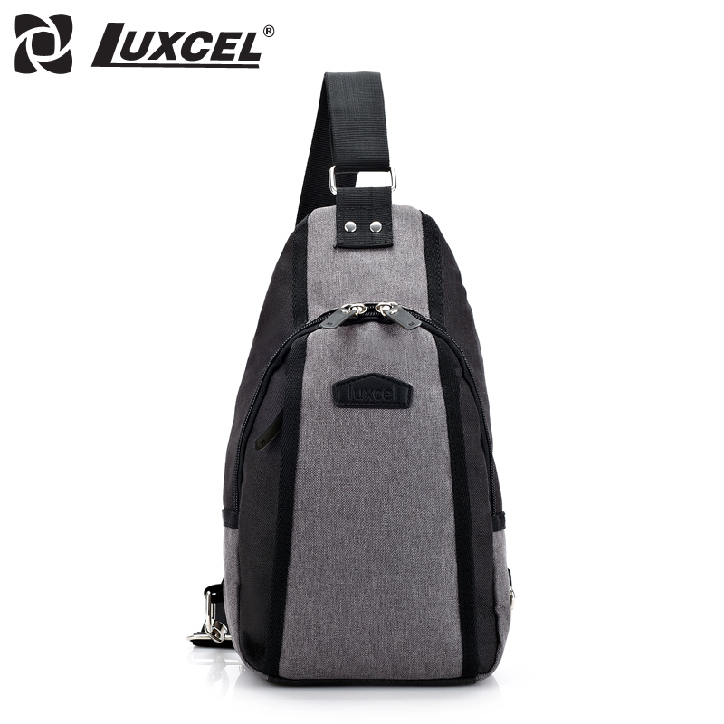501ec5ee80f0 Luxcel Men Women Functional multilayer Bag Cool Casual Chest Bag Pack  Outside Large Capacity Messenger bag crossbody small bag-in Crossbody Bags  from ...