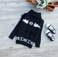 Fashion Warm Sweater Pullover Baby Children's Long Sleeve Turtleneck Knitted Sweater Kids Clothes 6 Colors AS-1612