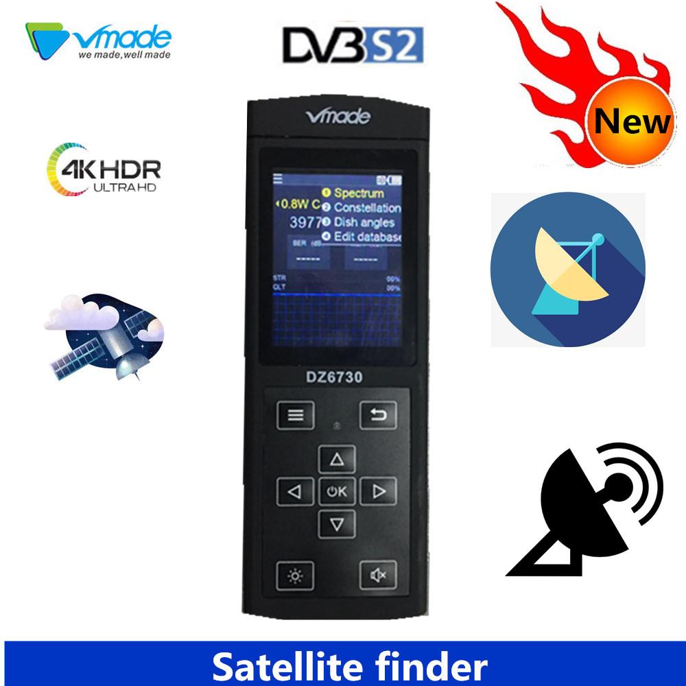 Vmade Satellite Finder HD DVB-S2 Digital Satellite Finder High Definition Sat Finder DVB S2 Satellite Meter Satfinder 1080P