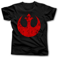 Star Wars Rebel Alliance t-shirt Hommes Darth Vader Storm Trooper Vincasual 100% Coton tee USA Taille S-3XL
