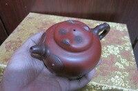 Старый Китайский Рукоделие Эмалированные Исин Цзы Ша Глины (Желтой каменной) Чайник, гигантская Панда, с отметкой, Бесплатная доставка