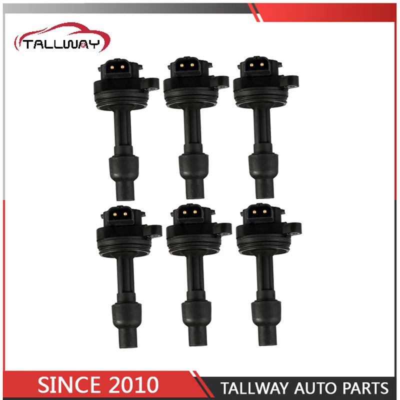 6PCS High Quality Ignition Coil 1275971 9135689 9146776 For VOLVO 760 940 960 V40 V50 V70 V90 S90 C70 S40 S60 S70 S80 стоимость