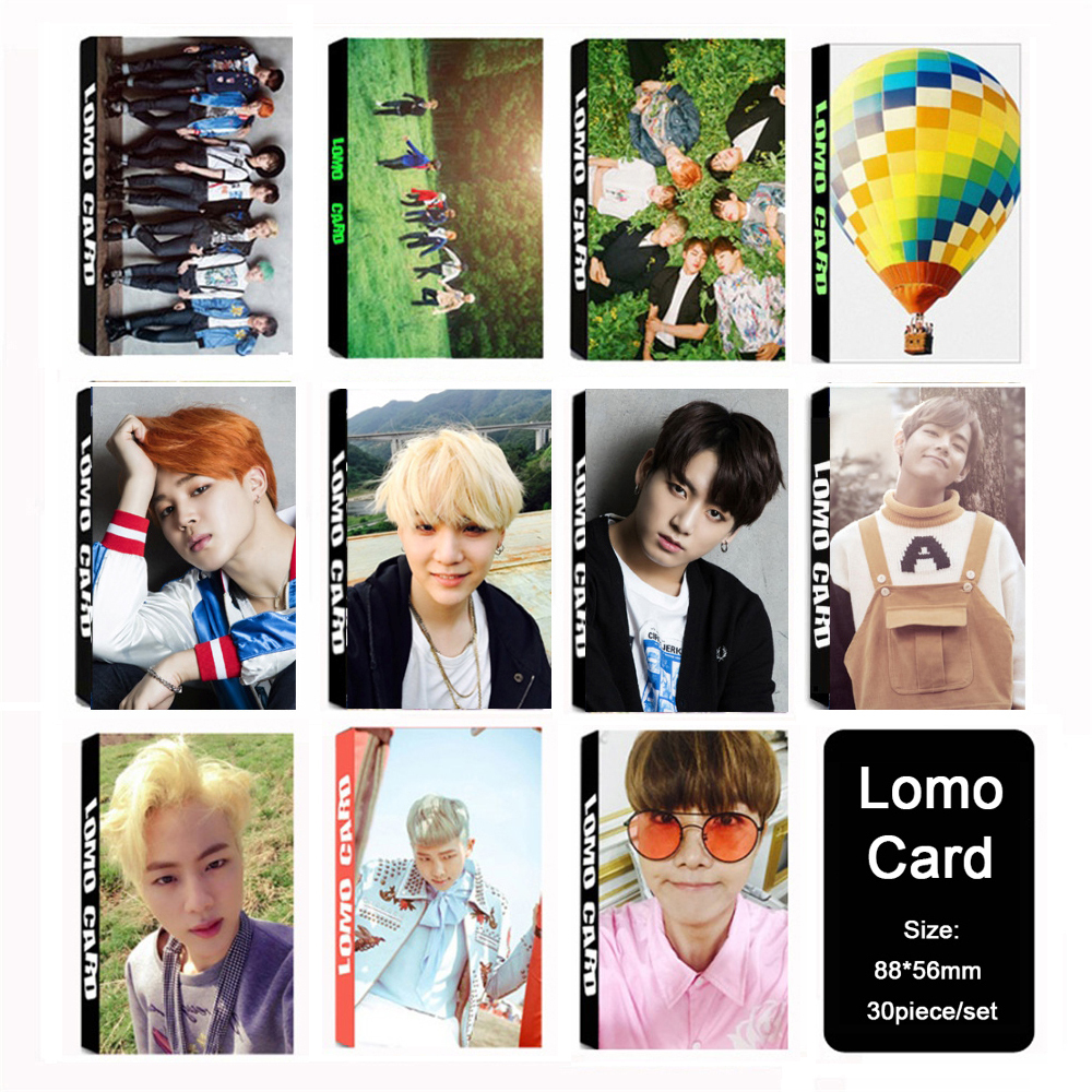 Men's Gloves Supply Kpop Bts Bangtan Boys Love Yourself Happy Ever Album Exo Twice Got7 Seventeen Monsta X Photo Photocards Postcards Poster 121pcs To Have A Long Historical Standing