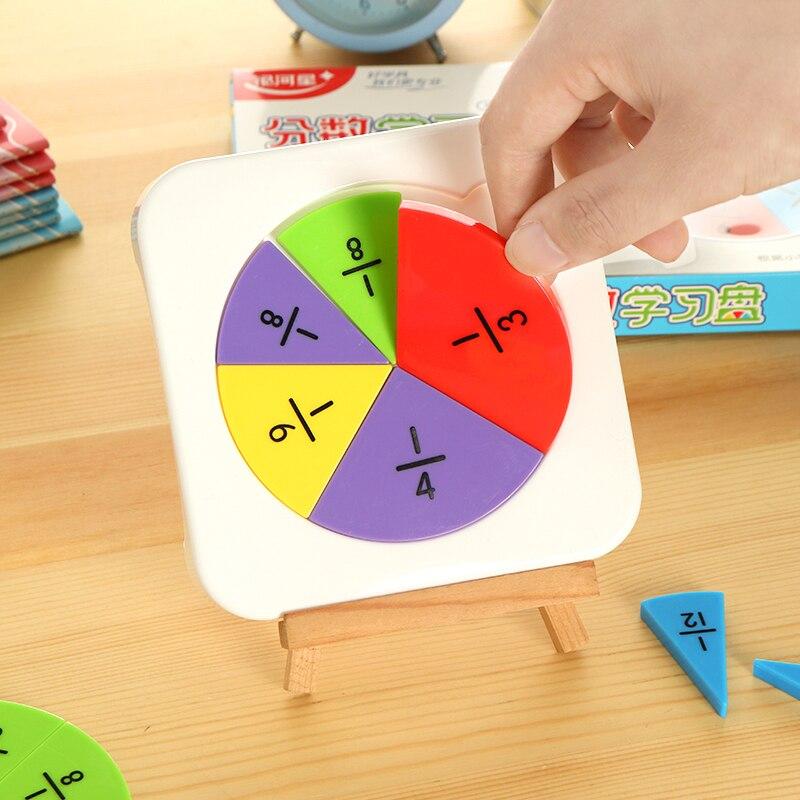 Elementare Mathematik Bruch Problem Demo Requisiten Fractional Grafik Präsentation Panel Kinder Lernen Bildung Mathematik Aids SorgfäLtige FäRbeprozesse