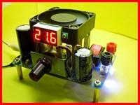 3A напряжение Цифровой LM338k мощности Регулируемый Линейный регулятор напряжения модуль (только плата, не комплект)