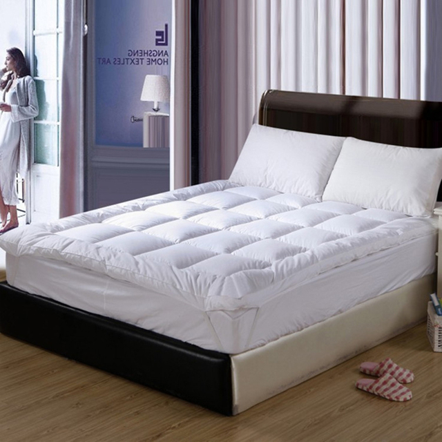 10cm Thick Student Warm Foldable Single Or Double Mattress Fashion New Topper Quilted Bed Hotel