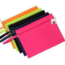 Лучшие Dumei A4 двухслойная ткань Оксфорд файл документа мешок файла Pocket Office школьных принадлежностей в наличии в выборе цвета NF-133