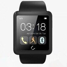 Bluetooth Smart schrittzähler uhr digital- uhr sync telefon sms SmartWatch für iOS und Android smartphone u10l reloj inteligente
