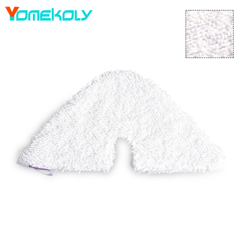 Steam Mop Replacement Triangle Pad For Shark S3901 Model Mop Clean Washable Cloth Microfiber Steam Mop Cloth cover 39*21.8cm(China)