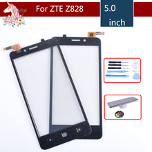 Touch Screen Digitizer For ZTE Avid Plus Z828 Z828L Touch Panel Touchscreen Lens Front Glass Sensor NO LCD Z828 Replacement new data collector touchscreen for trimble tsc3 amt 10476 touch screen digitizer sensors front lens glass replacement