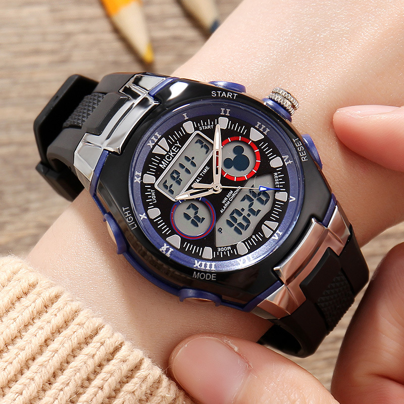 Child Girls Boys Digital Watch Multifunction Children Disney Brand Watches Waterproof Students Chronograph Calendar Week Alarm