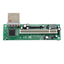 PCIE PCI-e PCI express to PCI adapter cable mini pci-e x1 to x16 riser card(China)