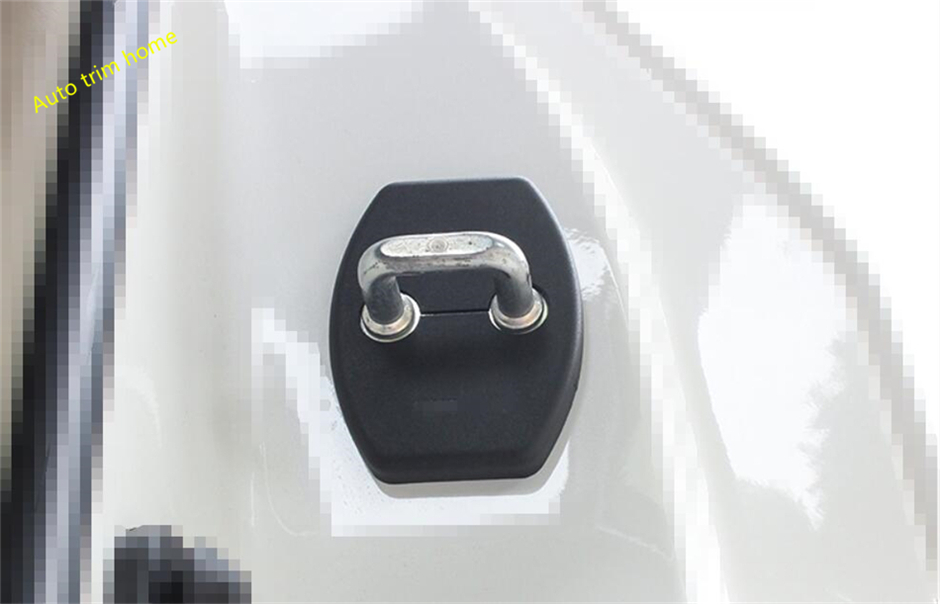 For Toyota Sienna 2014 2014 2016 2017 Plastic Inner Car Door Lock Protector Cover Buckle Decoration Molding Garnish Trim