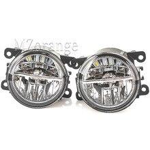 Для Ford Focus MK3 светодиодный светильник головной светильник MK2 Fusion транзит Fiesta Tourneo 2001- туман светильник s Противотуманные фары DRL Противотуманные светильник тумана светильник s
