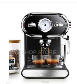 Włoski ekspres do kawy DL-KF5002 półautomatyczna wizualizacja domu pełna regulacja temperatury 20BAR tanie i dobre opinie Donlim STAINLESS STEEL 220 v 1000W