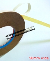 50mm wide, 30M Strong Two Sides Oil Glue Tape for Cloth, Fabric Sewing Fasten, Embroidered Adhesive, Book, Rubber Handmade DIY