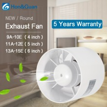 все цены на ABS Round Duct Fan Booster Exhaust Ventilator Ventilation Vent Air 4'' 5'' 6'' for Window Wall Bathroom Toilet Kitchen 220V 110V онлайн